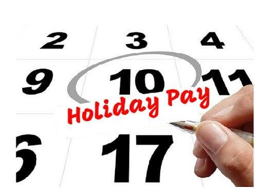 Holiday Pay & Public Holidays